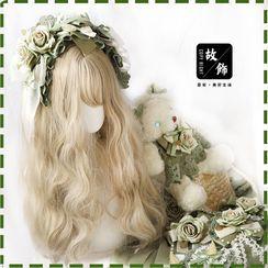 AOI - 小熊斜挎包 / 碎花蕾絲蝴蝶結太陽帽 / 髮帶 / 髮夾