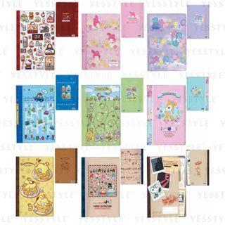 Sanrio - A4 20-Page Plastic Document Folder - 11 Types