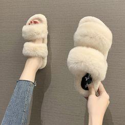 Nikao - Faux Fur Slippers