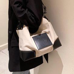 JAMEL - Paneled Crossbody Bag