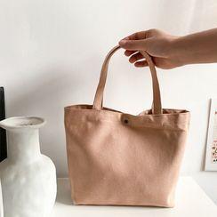 TangTangBags - Plain Canvas Handbag