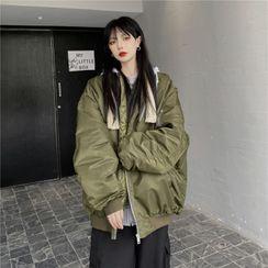 Malnia Home - Hooded Bomber Jacket