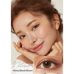 GLOW LOUDEY - Natural Monthly Color Lens #Honey Biscuit Brown