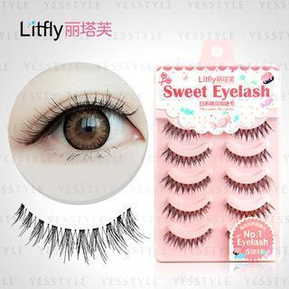 Litfly - Eyelash #107 (5 pairs)
