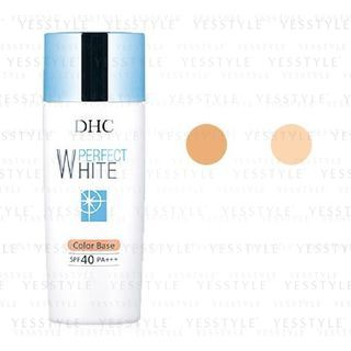 DHC - Medicated Perfect White Color Base SPF 40 PA+++ - 2 Types
