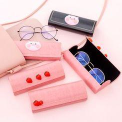 Fun House - Printed Eyeglasses Case