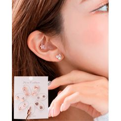 Miss21 Korea - Various Ear Stud Set (14PCS)