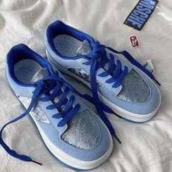 STEPUP - Platform Paneled Sneakers