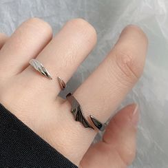 ERMIE - Couple Matching Wing Ring