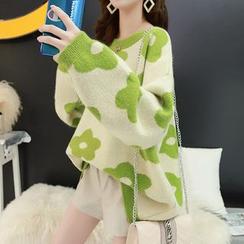 FR - Flower Pattern Sweater