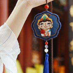 Embroidery Kingdom - Buddha Amulet DIY Embroidery Kit