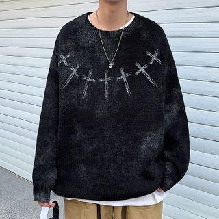 Wescosso - 圓領印花針織衫