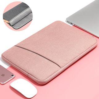 BAGGEST - 套装: 纯色电脑保护套 / 配饰小袋