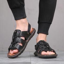 Kayne H(ケイン H) - Platform Lace Up Sandals