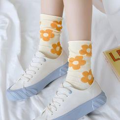 Sayaka - 印花襪子