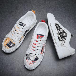 MARTUCCI - 印花帆布休閒鞋
