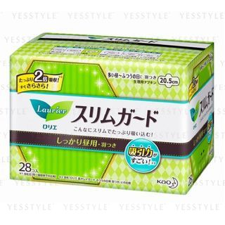 花王 - 乐而雅 Speed+ 纤薄日用护翼卫生巾 20.5cm