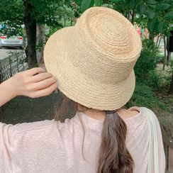 MERONGSHOP - Raffia Bucket Hat