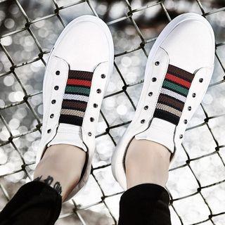 MARTUCCI - Colour Block Canvas Sneakers