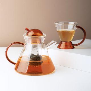 Baeps - Glass Teapot / Tea Drinking Cup