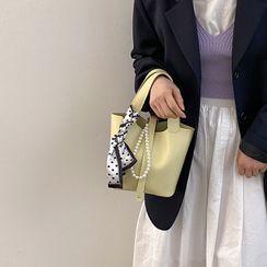 Letheroni - Mini Faux Leather Handbag