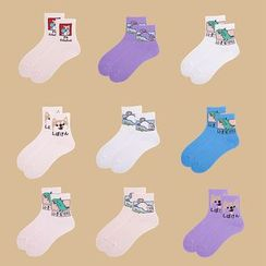 ASAIDA - Cartoon Socks (Various Designs)