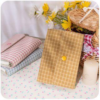 Momoi - Plaid Fabric A6 Notebook