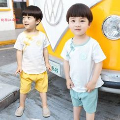 SEE SAW - Kids Set: Short-Sleeve T-Shirt + Shorts