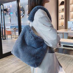 Skyglow - 純色毛毛手提袋
