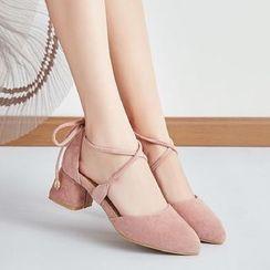 佳美 - 粗跟凉鞋