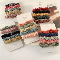 Koi Kawaii - Set of 5: Fabric Hair Tie