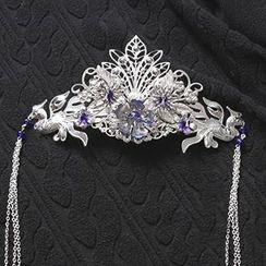 Paparazzi - 花形垂飾皇冠