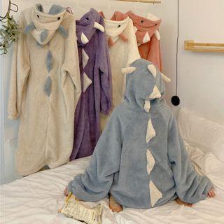 Fabricino - Hooded Fleece Sleep Robe