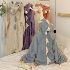 Fabricino - Hooded Fleece Sleep Robe