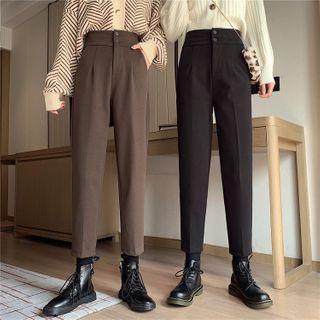 Guajillo - High-Waist Tapered Pants