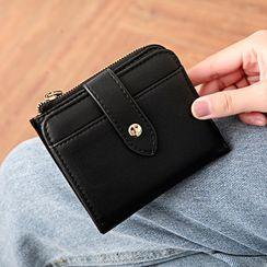 BAUQBAU - Zip Short Wallet