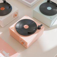 BUGLE - Vinyl Turntable Bluetooth Speaker