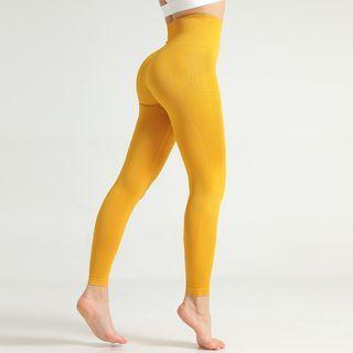Izzakerry - Textured Yoga Pants