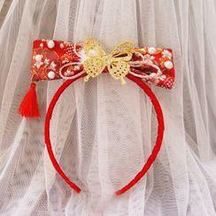 KOSUKE(コウスケ) - Floral Bow Headband