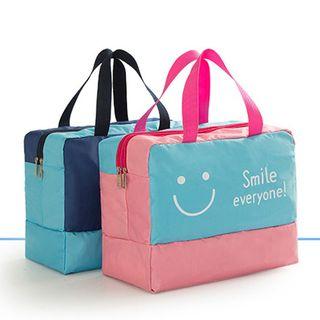 Evorest Bags - Smiley Print Beach Bag