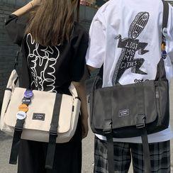 EAVALURE - Buckled Messenger Bag