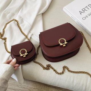 KOCORE - Chain Flap Crossbody Bag