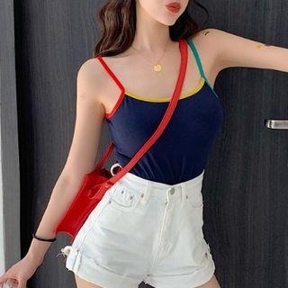 Color Block Camisole Top