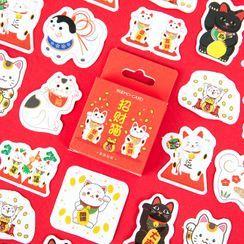 Milena - New Year Cat Sticker
