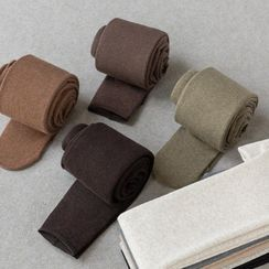 Kutsushita - Fleece-Lined Tights / Stirrup Tights