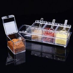 Micy - Transparent Seasoning Container
