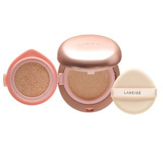 LANEIGE - Layering Cover Cushion SPF34 PA++ & Concealing Base SPF50+ PA+++ (4 Colors)