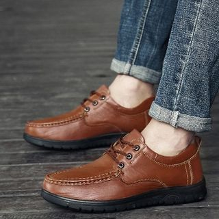 NOVO - Genuine Leather Loafers / Lace-Up Shoes