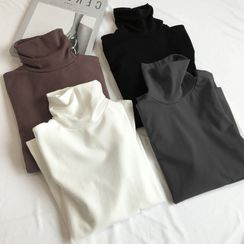 Annyoung  - Long-Sleeved Turtleneck