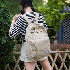 Sosara - Plain Canvas Backpack